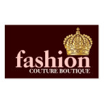 Melocotón indestructible de la tiara de moda intré tarjetas de negocios