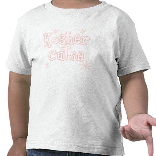 melocotón kosher del cutie camisetas