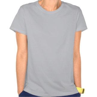Melocotones abstractos camisetas