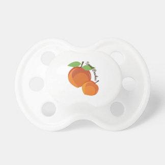 Melocotones dulces chupetes para bebes