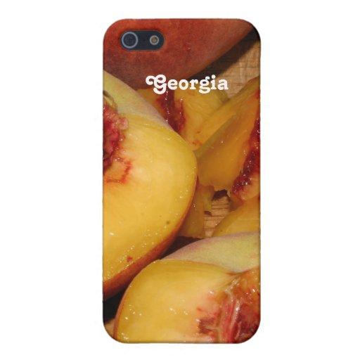 Melocotones iPhone 5 Carcasas