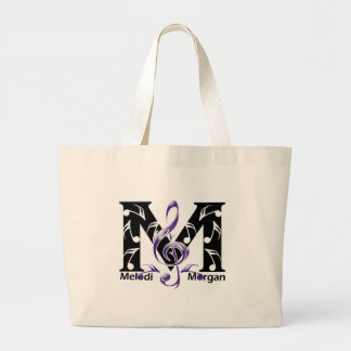 Melodi Morgan Fan Page Large Tote Bag