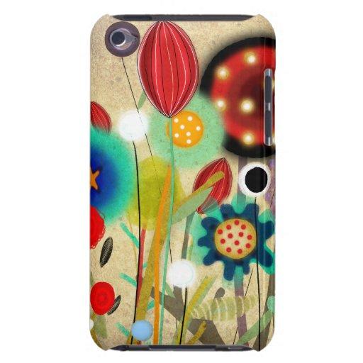 Melodía de flores iPod touch Case-Mate funda