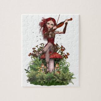 Melodía de hadas coralina del dulce del ~ puzzle