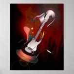Melodía de la guitarra impresiones