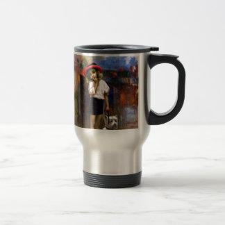 Melodía de los colores 1 (paseo) tazas de café