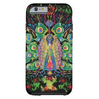 Melodía del pavo real funda de iPhone 6 tough