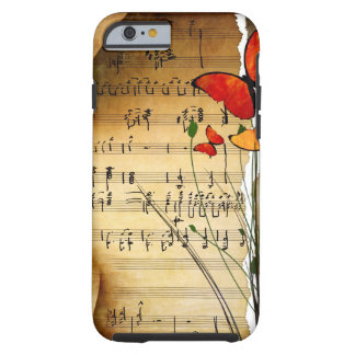 Melodía del verano funda de iPhone 6 tough