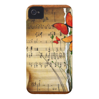 Melodía del verano iPhone 4 Case-Mate cobertura