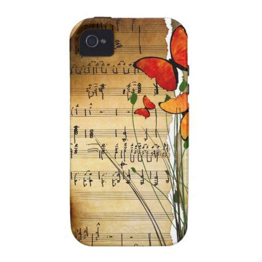 Melodía del verano vibe iPhone 4 funda