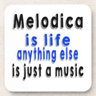 Melodica es vida que todo lo demás es apenas una posavasos de bebida