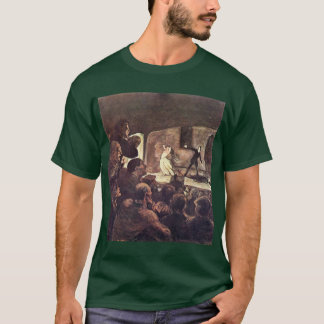 Melodrama By Daumier Honoré T-Shirt
