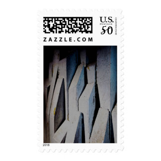 """Melodramatic Heights"" - Postage Stamp"