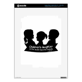 Melody5 Decal For iPad 3