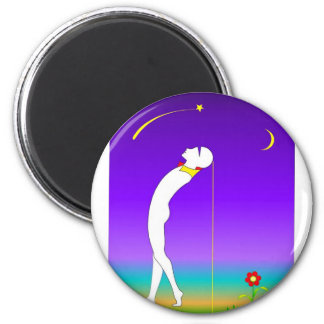 melody 2 inch round magnet