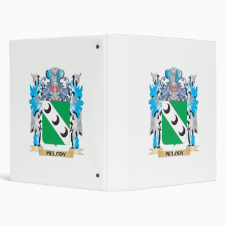 Melody Coat of Arms - Family Crest Binders