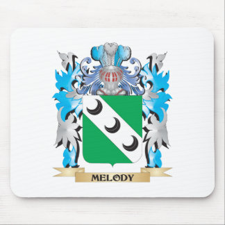 Melody Coat of Arms - Family Crest Mousepads