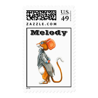 Melody collector's stamp