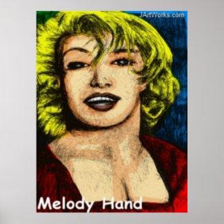 Melody Hand print