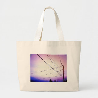 Melody In The Sky Canvas Bag
