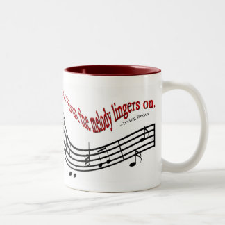 Melody Lingers On Mugs