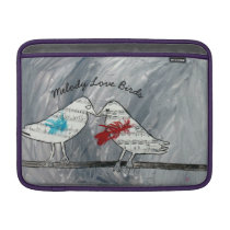 Melody Love Birds MacBook Air Sleeve