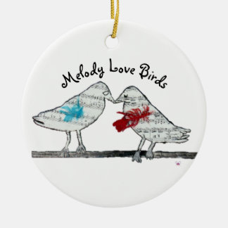 Melody Love Birds - Ornament