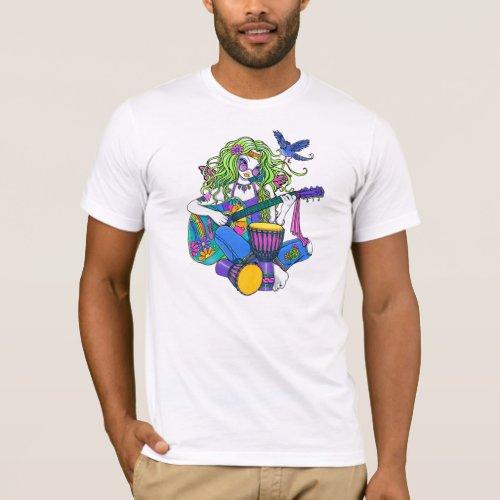 Melody Musical Hippie Fairy T_Shirt