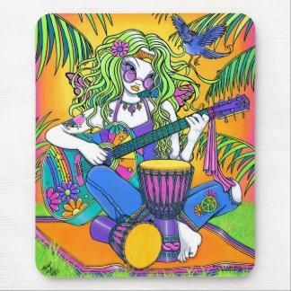 Melody Musical Rainbow Hippie Fairy Mousepad