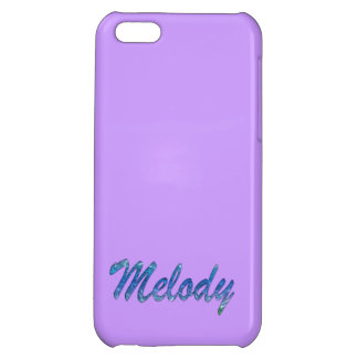 Melody Name Branded iPhone Cover iPhone 5C Case