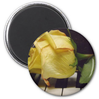 Melody Of A Rose Magnet