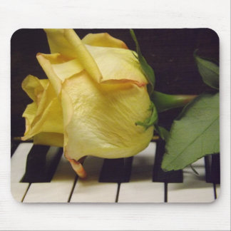 Melody Of A Rose Mousepad