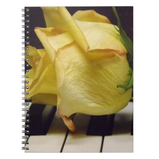Melody Of A Rose Notebook