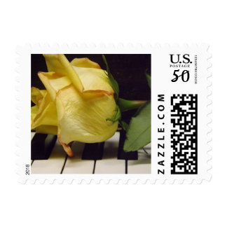 Melody Of A Rose Postage Stamps