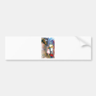 Melody of colors 2 bumper stickers