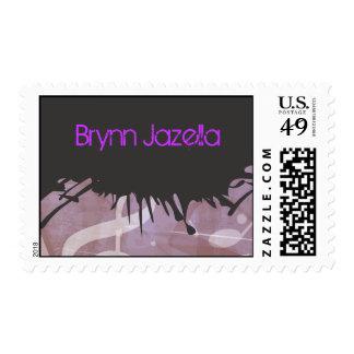 MELODY of the TORAH Bar Bat Mitzvah Postage Stamp