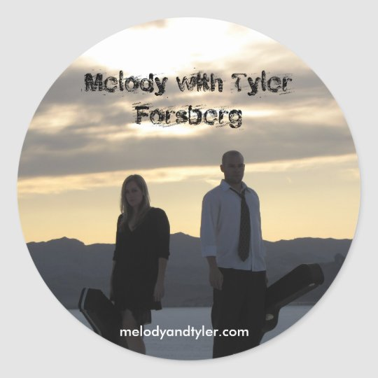 melody with tyler forsberg sticker
