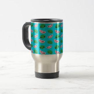 Melon Background Travel Mug