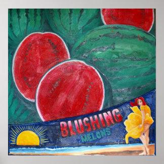 Melon Blushing Impresiones