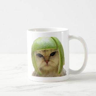 melon cat coffee mug