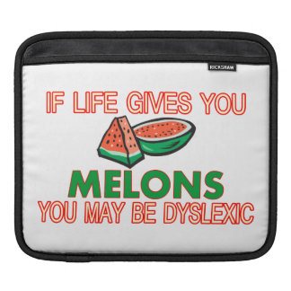 Melon Dyslexia Sleeves For iPads