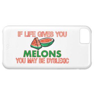 Melon Dyslexia iPhone 5C Cases