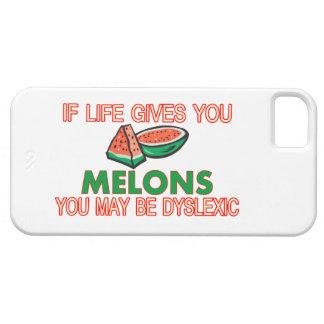 Melon Dyslexia iPhone SE/5/5s Case