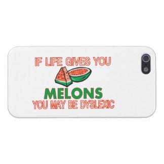 Melon Dyslexia iPhone SE/5/5s Cover