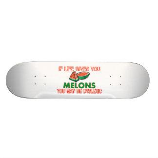 Melon Dyslexia Skate Board Deck