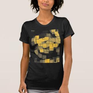 """Melon"" Geometric Abstract T-Shirt"