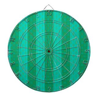 Melon & Green Stripes Dart Board