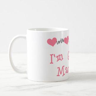 Melon Hearts I'm Getting Married Coffee Mug