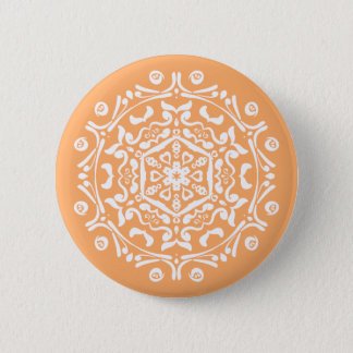 Melon Mandala Button
