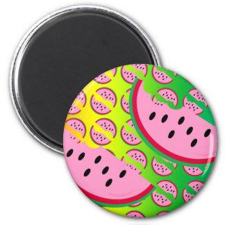 Melon Mania! 2 Inch Round Magnet